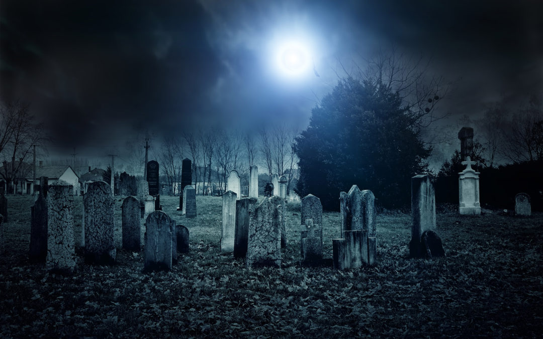 Moonlight Cemetery Tour – Friday, October 2 and Saturday, October 3 at 7 pm and 8 pm